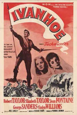 Ivanhoe - 27 x 40 Movie Poster - Style A