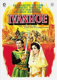 Ivanhoe - 43 x 62 Movie Poster - Spanish Style A