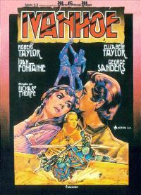 Ivanhoe - 11 x 17 Movie Poster - Spanish Style C