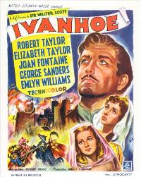 Ivanhoe - 11 x 17 Movie Poster - Belgian Style A