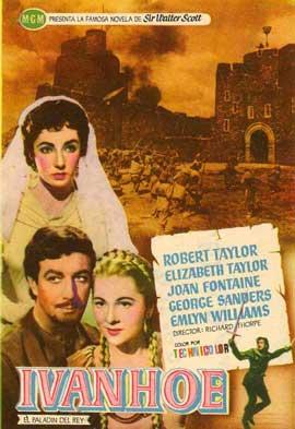 Ivanhoe - 11 x 17 Movie Poster - Spanish Style D