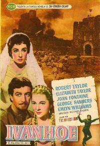 Ivanhoe - 27 x 40 Movie Poster - Spanish Style C