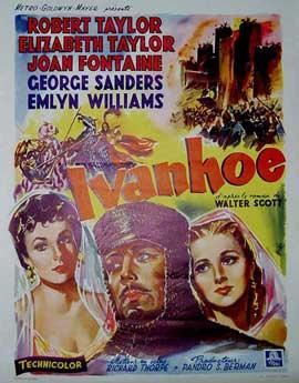 Ivanhoe - 11 x 17 Movie Poster - Belgian Style B