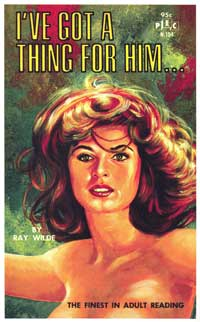 I've Got a Thing for Him - 11 x 17 Retro Book Cover Poster