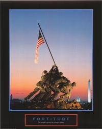 Iwo Jima-Flag Raising - 43 x 62 Movie Poster - Bus Shelter Style A