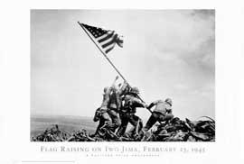 Iwo Jima-Flag Raising - 27 x 40 Movie Poster - Style B