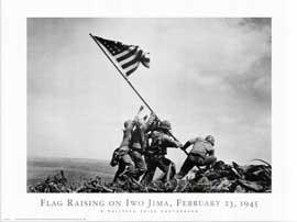Iwo Jima-Flag Raising - 11 x 17 Movie Poster - Style B