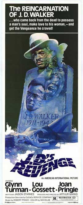 J.D.'s Revenge - 14 x 36 Movie Poster - Insert Style A