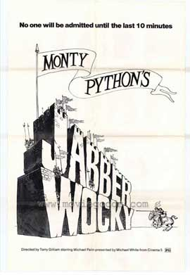 Jabberwocky - 11 x 17 Movie Poster - Style A