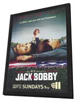 Jack & Bobby - 11 x 17 TV Poster - Style A - in Deluxe Wood Frame