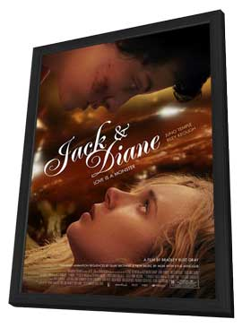 Jack and Diane - 11 x 17 Movie Poster - Style A - in Deluxe Wood Frame