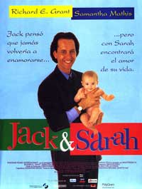 Jack & Sarah - 27 x 40 Movie Poster - Spanish Style A