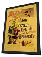 Jack & the Beanstalk - 11 x 17 Movie Poster - Style A - in Deluxe Wood Frame