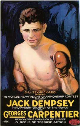 Jack Dempsey vs. Georges Carpenter - 11 x 17 Movie Poster - Style A