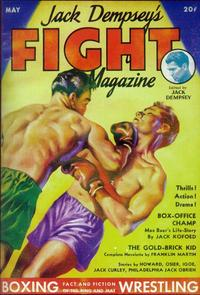 Jack Dempsey's Fight Magazine (Pulp) - 11 x 17 Pulp Poster - Style A