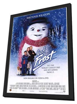 Jack Frost - 11 x 17 Movie Poster - Style B - in Deluxe Wood Frame