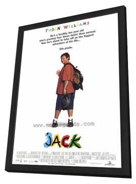 Jack - 27 x 40 Movie Poster - Style A - in Deluxe Wood Frame