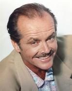NIcholson, Jack - Jack Nicholson in Brown Formal Outfit Portrait