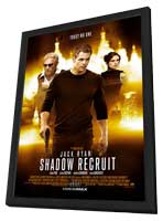 Jack Ryan: Shadow Recruit - 11 x 17 Movie Poster - Style A - in Deluxe Wood Frame