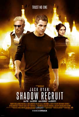 Jack Ryan: Shadow Recruit - 27 x 40 Movie Poster - Style A