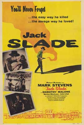 Jack Slade - 27 x 40 Movie Poster - Style A