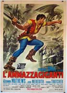 Jack the Giant Killer - 11 x 17 Movie Poster - Italian Style A