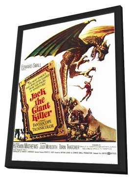 Jack the Giant Killer - 11 x 17 Movie Poster - Style A - in Deluxe Wood Frame