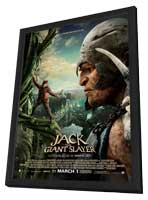 Jack the Giant Slayer - 27 x 40 Movie Poster - Style B - in Deluxe Wood Frame