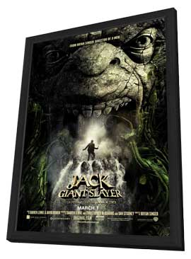 Jack the Giant Slayer - 11 x 17 Movie Poster - Style A - in Deluxe Wood Frame
