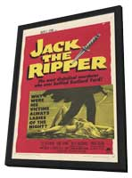 Jack the Ripper - 11 x 17 Movie Poster - Style A - in Deluxe Wood Frame