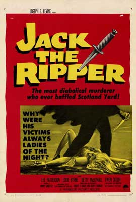 Jack the Ripper - 27 x 40 Movie Poster - Style A