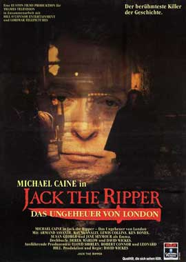 Jack the Ripper (TV) - 11 x 17 Movie Poster - German Style A