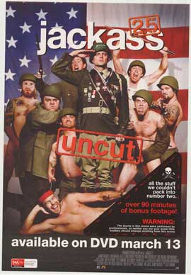 Jackass 2.5 - 11 x 17 Movie Poster - Australian Style A