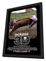 Jackass 3-D - 27 x 40 Movie Poster - Style A - in Deluxe Wood Frame
