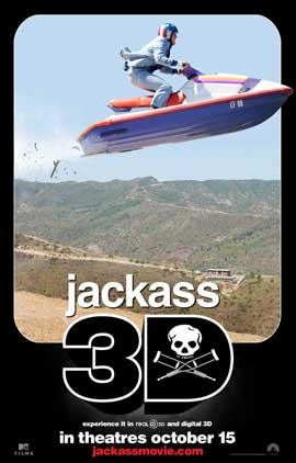 Jackass 3-D - 11 x 17 Movie Poster - Style B