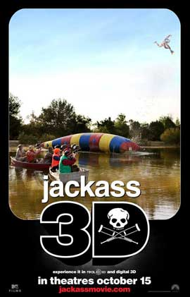Jackass 3-D - 11 x 17 Movie Poster - Style C