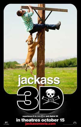 Jackass 3-D - 11 x 17 Movie Poster - Style D