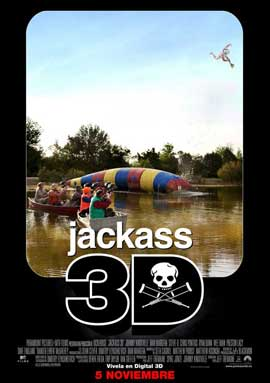 Jackass 3-D - 27 x 40 Movie Poster - Spanish Style A