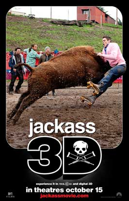 Jackass 3-D - DS 1 Sheet Movie Poster - Style A