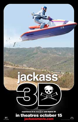 Jackass 3-D - DS 1 Sheet Movie Poster - Style B