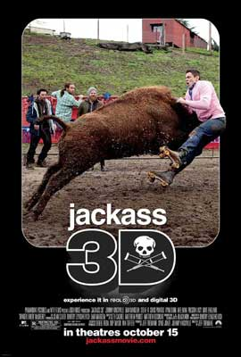 Jackass 3-D - 11 x 17 Movie Poster - Style F