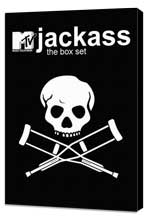 Jackass - 11 x 17 TV Poster - Style B - Museum Wrapped Canvas