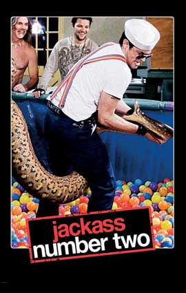 Jackass: Number Two - 11 x 17 Movie Poster - Style D