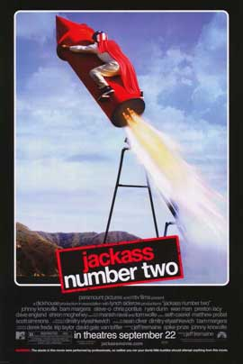 Jackass: Number Two - 11 x 17 Movie Poster - Style G