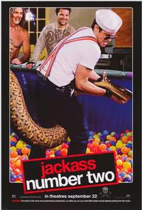 Jackass: Number Two - 43 x 62 Movie Poster - Bus Shelter Style D