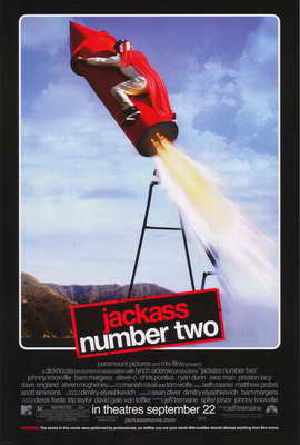Jackass: Number Two - 27 x 40 Movie Poster - Style H