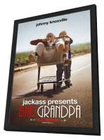 Jackass Presents:  Bad Grandpa - 11 x 17 Movie Poster - Style C - in Deluxe Wood Frame