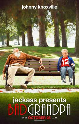 Jackass Presents:  Bad Grandpa - 27 x 40 Movie Poster - Style B