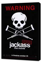 Jackass: The Movie - 27 x 40 Movie Poster - Style B - Museum Wrapped Canvas
