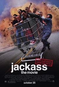 Jackass: The Movie - 11 x 17 Movie Poster - Style A - Museum Wrapped Canvas